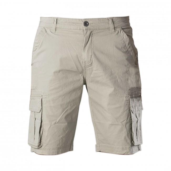 Pants bermuda poplin sand 0119| GENTS.nl | Hoogste kwaliteit voor de laagste prijs