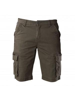 Pants bermuda poplin army 0120