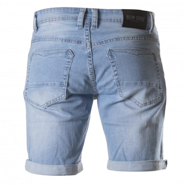 Pants bermuda denim bleach 0123| GENTS.nl | Hoogste kwaliteit voor de laagste prijs