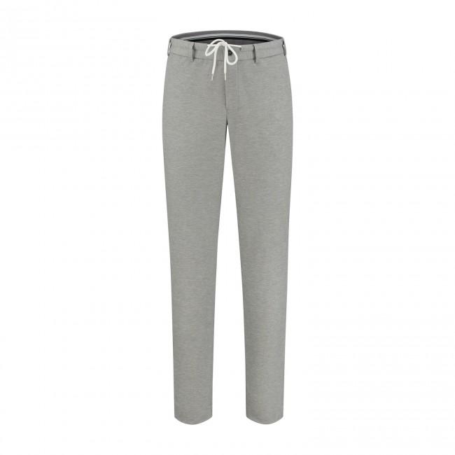 M&M pantalon jersey grijs 0130| GENTS.nl | Hoogste kwaliteit voor de laagste prijs