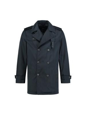 gents Jassen Trenchcoat Navy 0061