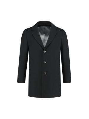 Coat zwart 0066| GENTS.nl | Hoogste kwaliteit voor de laagste prijs