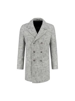 Coat beige gemeleerd 0070