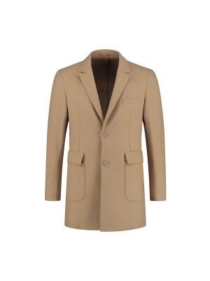gents Jassen Coat unconstructed camel 0073