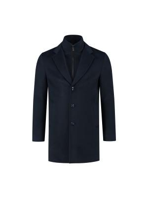 Coat windvanger blauw 0078
