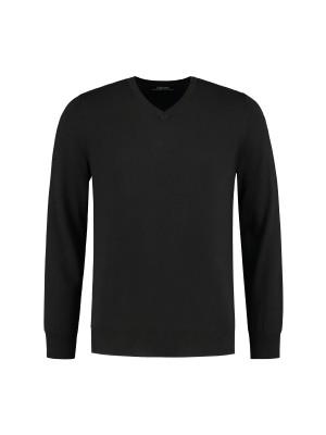 gents Truien&Vesten V-neck Zwart 0073