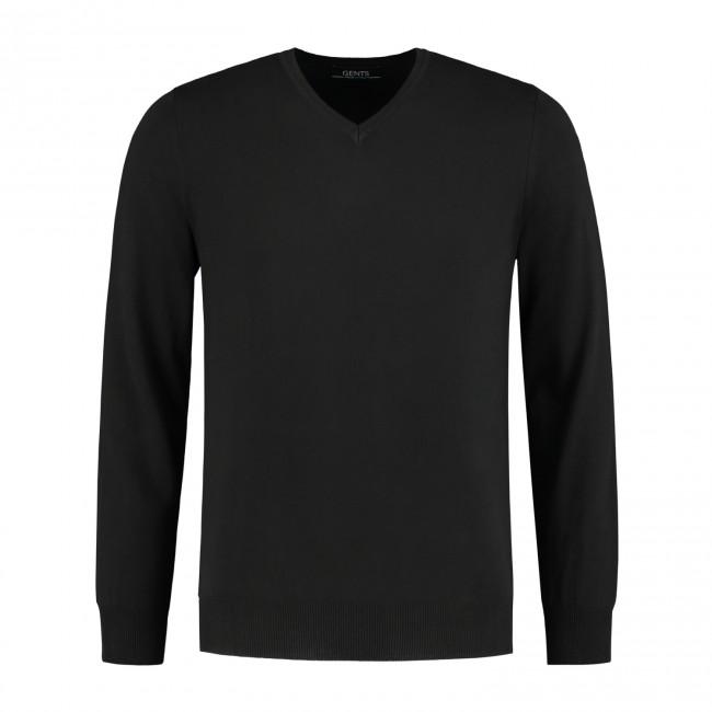 Gents V-neck Zwart 0073| GENTS.nl | Hoogste kwaliteit voor de laagste prijs