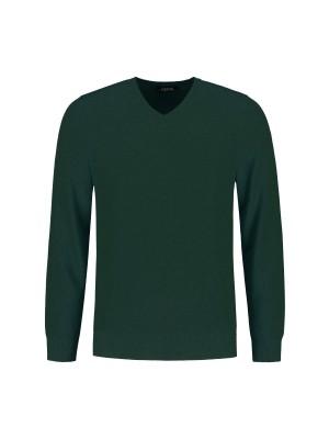 Gents V-neck Groen 0076