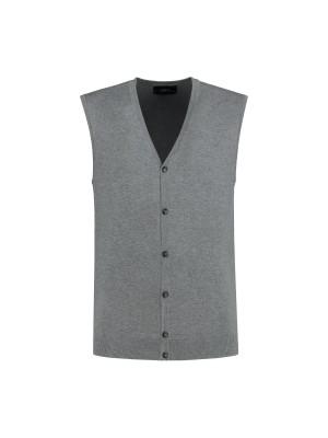 Cardigan middengrijs 0086| GENTS.nl | Hoogste kwaliteit voor de laagste prijs