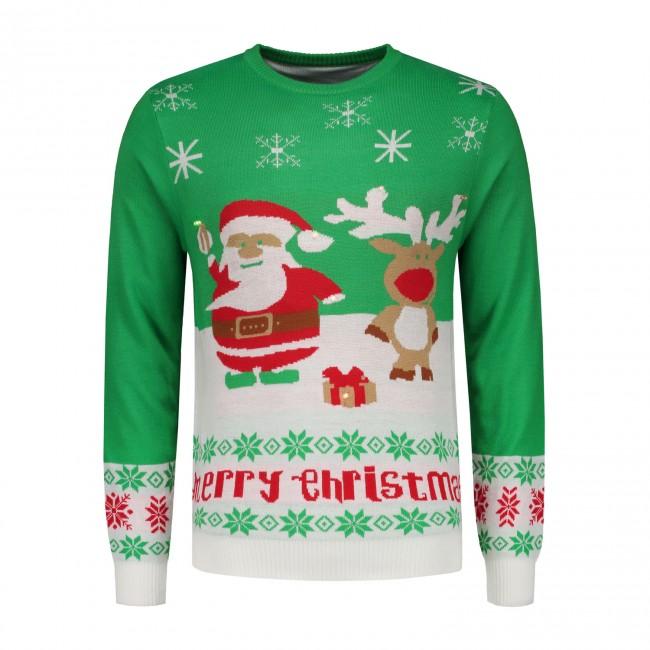 Kersttrui Maat 116.Kersttrui Merry 0094 Gents Nl Hoogste Kwaliteit Voor De Laagste Prijs