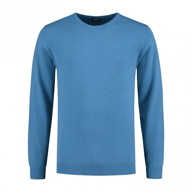 Trui ronde hals Ultramarine 0105| GENTS.nl | Hoogste kwaliteit voor de laagste prijs