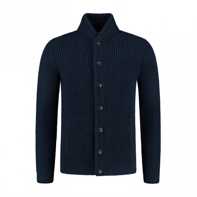 Vest knopen blauw 0139| GENTS.nl | Hoogste kwaliteit voor de laagste prijs