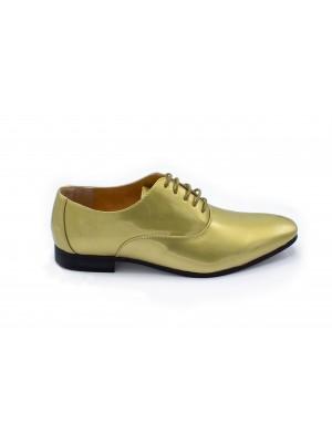 gents Schoenen Lakschoen goud 0022