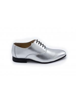 gents Schoenen Lakschoen zilver 0023