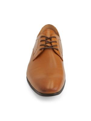 Leren schoenen bruin 0024