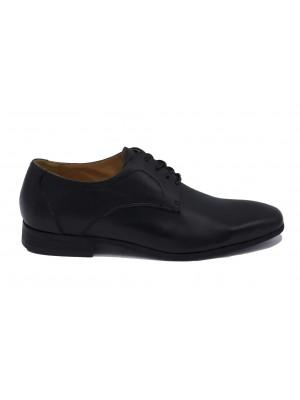 Leren schoenen zwart 0025
