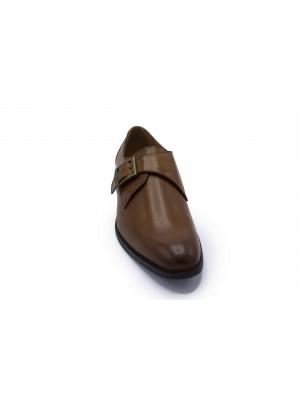 Gents leder monkstrap tan 0039| GENTS.nl | Hoogste kwaliteit voor de laagste prijs
