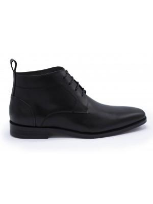 gents Schoenen Veterschoen halfhoog zwart 0052