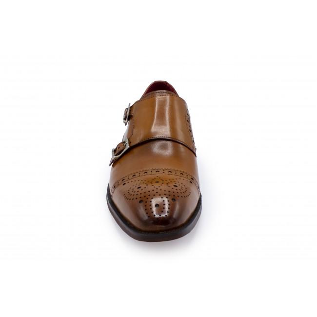 Dubbele gesp cognac 0054| GENTS.nl | Hoogste kwaliteit voor de laagste prijs