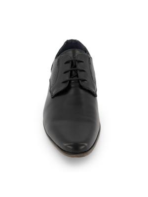 Veterschoen splitleer zwart 0063| GENTS.nl | Hoogste kwaliteit voor de laagste prijs