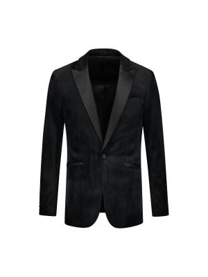 Dinnerjacket velvet zwart 0046  GENTS.nl   Hoogste kwaliteit voor de laagste prijs