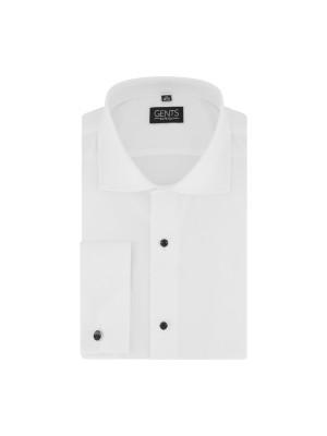 Smoking overhemd structuur studs 0054| GENTS.nl | Hoogste kwaliteit voor de laagste prijs
