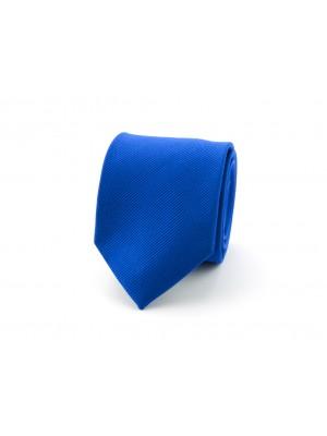 Stropdas zijde uni NOS kobalt 0151| GENTS.nl | Hoogste kwaliteit voor de laagste prijs