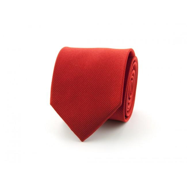 Stropdas zijde uni NOS rood 0164| GENTS.nl | Hoogste kwaliteit voor de laagste prijs