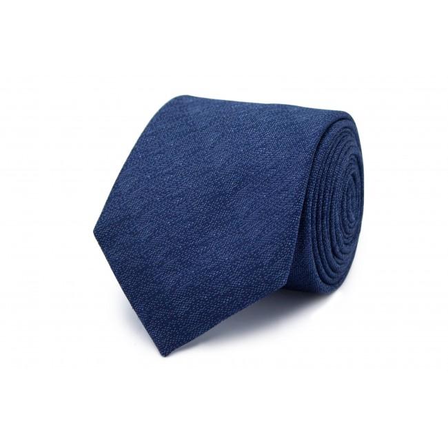 Stropdas zijde blauw patroon 0210| GENTS.nl | Hoogste kwaliteit voor de laagste prijs