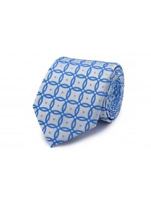 Stropdas zijde cirkel patroon 0264| GENTS.nl | Hoogste kwaliteit voor de laagste prijs