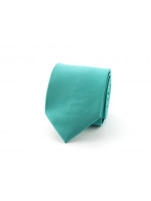no label Stropdassen Stropdas smaragd-emerald 0358