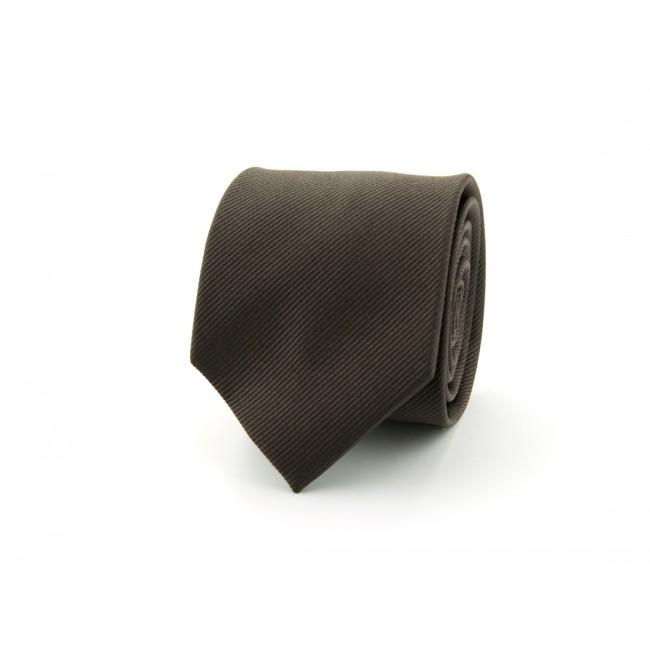 Stropdas donker bruin 0362| GENTS.nl | Hoogste kwaliteit voor de laagste prijs