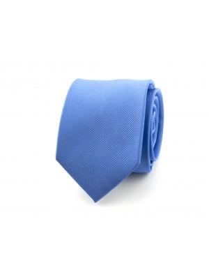 no label Stropdassen Stropdas midden blauw 0367