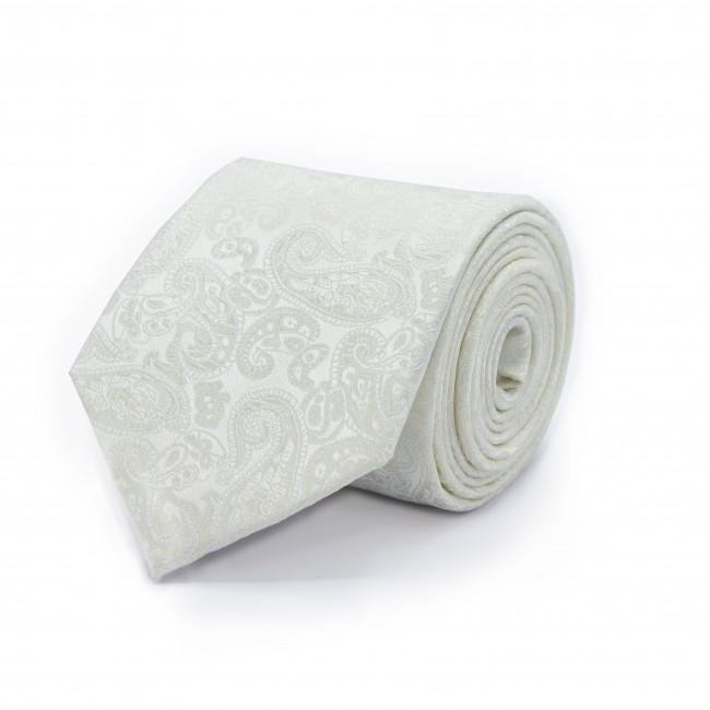 Stropdas wit structuur 0472| GENTS.nl | Hoogste kwaliteit voor de laagste prijs
