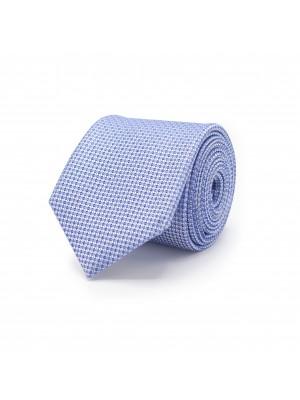 Stropdas patroon blauw 0482