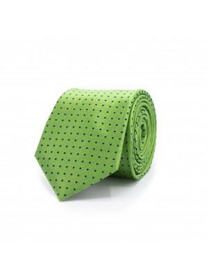 gents Stropdassen Stropdas collectie patroon groen 0487