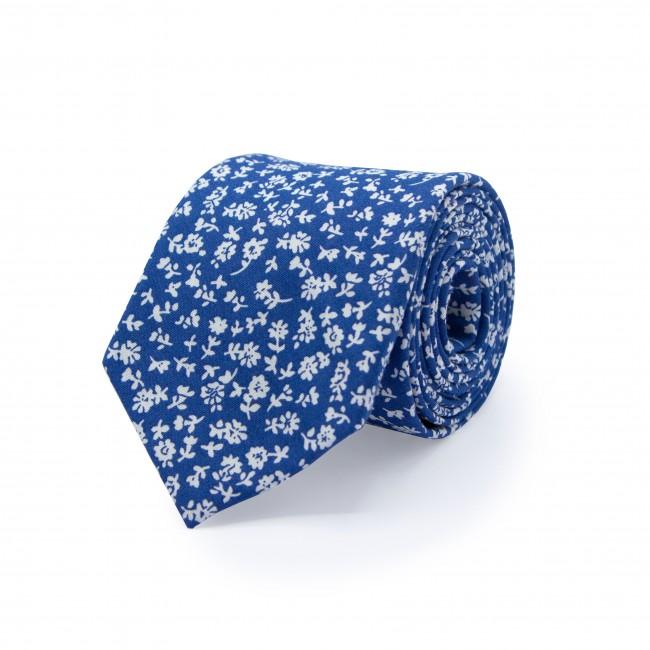 Stropdas zijde blauw 0501| GENTS.nl | Hoogste kwaliteit voor de laagste prijs