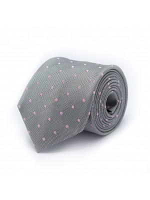 Stropdas zijde grijs 0503  GENTS.nl   Hoogste kwaliteit voor de laagste prijs