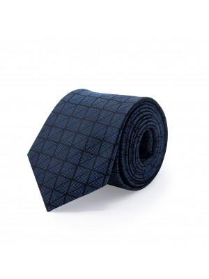 Stropdas zijde blauw 0505