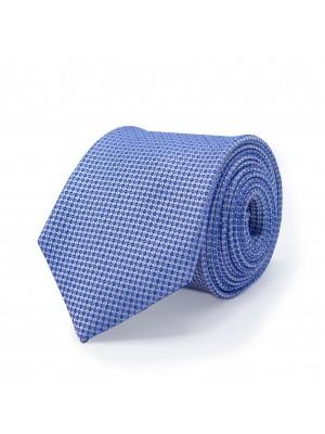 Stropdas zijde blauw 0508