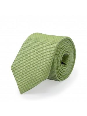 Stropdas zijde groen 0509
