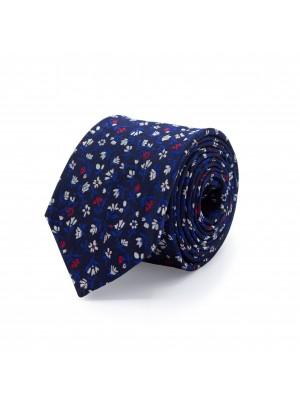 Stropdas zijde blauw 0515| GENTS.nl | Hoogste kwaliteit voor de laagste prijs