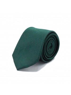 Stropdas zijde groen 0538