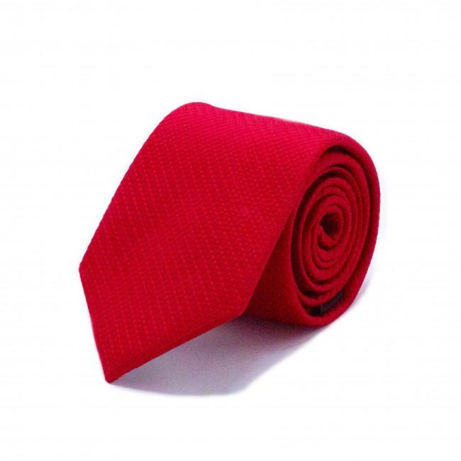 Stropdas zijde rood 0540| GENTS.nl | Hoogste kwaliteit voor de laagste prijs