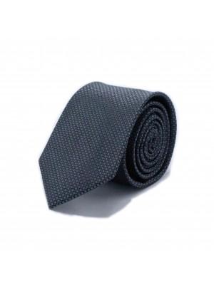Stropdas zijde zwart 0543