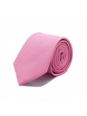 Stropdas zijde roze 0549