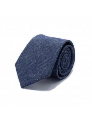 Stropdas zijde blauw 0551
