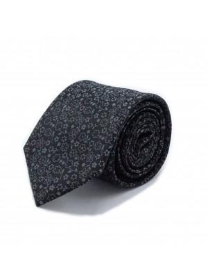 Stropdas zijde zwart 0557