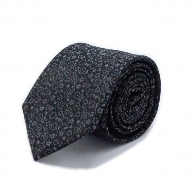 Stropdas zijde zwart 0557| GENTS.nl | Hoogste kwaliteit voor de laagste prijs