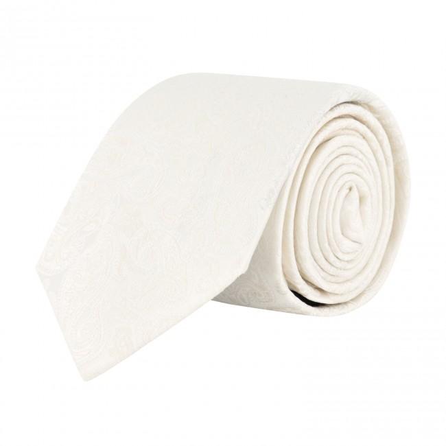 Stropdas zijde wit 0628| GENTS.nl | Hoogste kwaliteit voor de laagste prijs